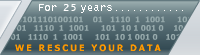 For 15 years we rescue your data